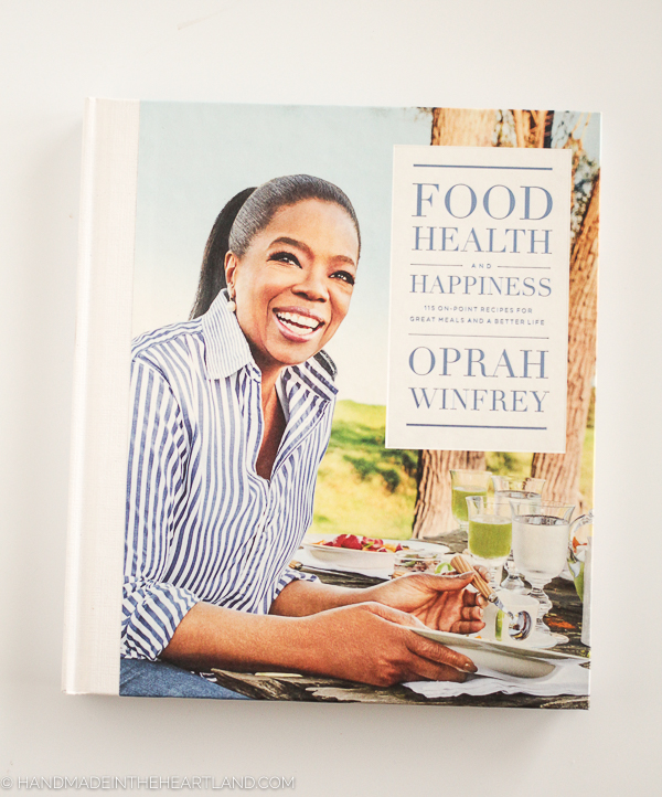 Oprah Winfrey's new cookbook