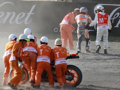 Pedrosa Alami Kecelakaan Parah Jelang MotoGP Jepang