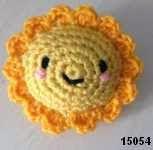 patron gratis sol amigurumi, free amigurumi pattern sun