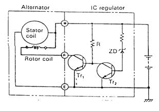 Prinsip Kerja IC Regulator