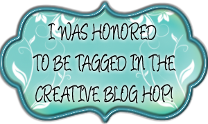 Creative Bloggers Hop