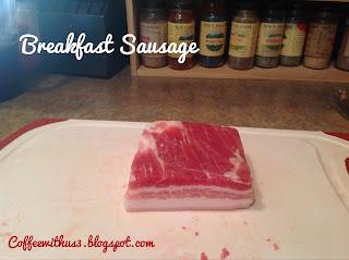 Breakfast Sausage - Pork Belly