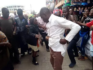 """Kumasi street preachers fight each other over """"collection"""""""