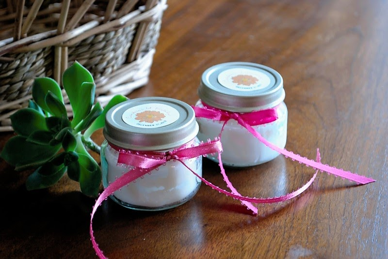 Katch Of The Day Baby Food Jar Candles