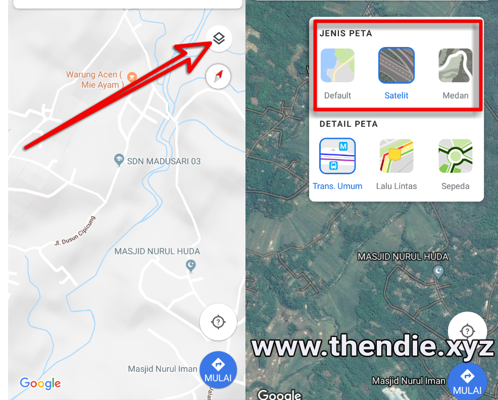 Cara memasukan lokasi di google map,menghapus lokasi di google map
