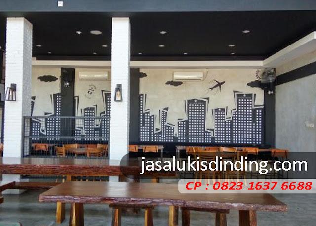 Jasa Mural Cafe