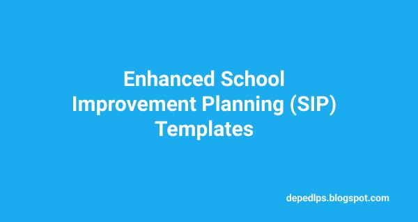 Enhanced school improvement planning sip templates deped lps enhanced school improvement planning sip templates toneelgroepblik Image collections