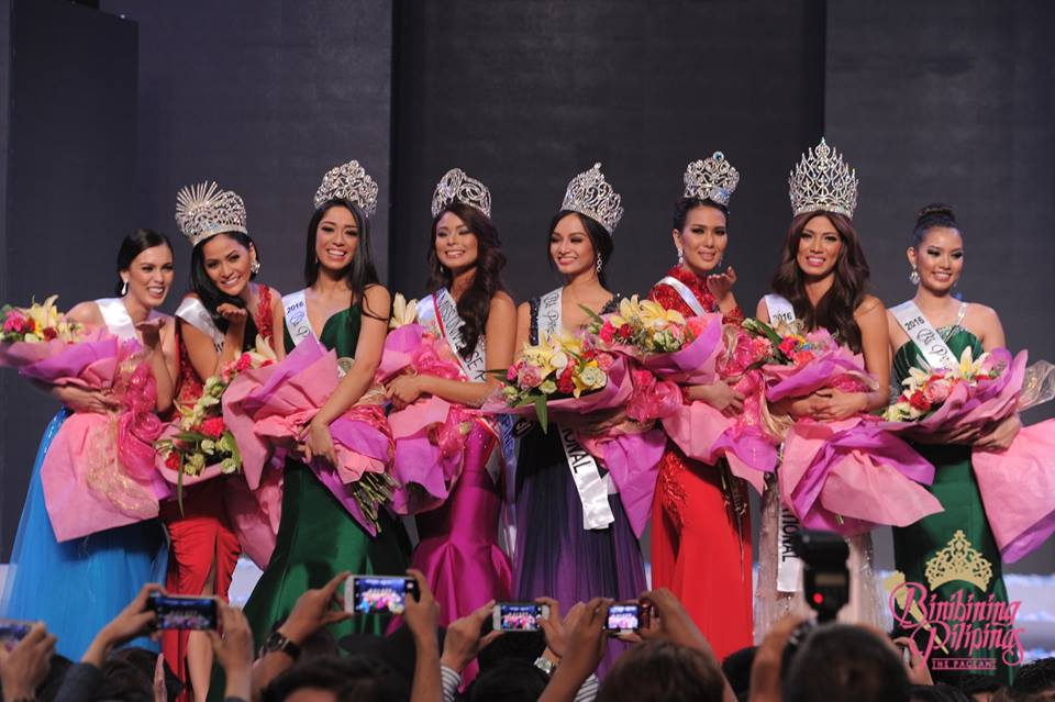 The Intersections & Beyond: Binibining Pilipinas 2016: Full List of