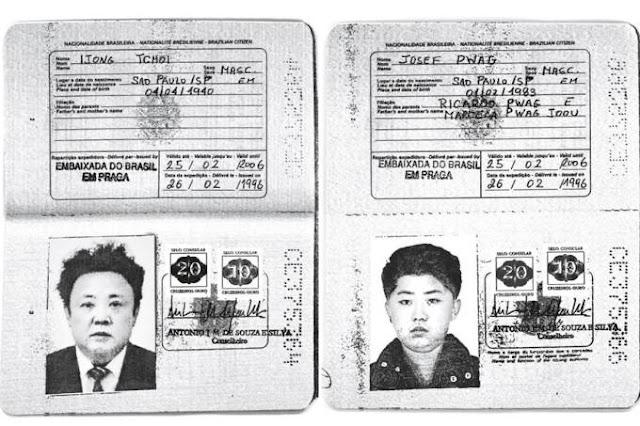 Líderes da Coreia do Norte usaram passaportes brasileiros emitidos pela Embaixada do Brasil em Praga