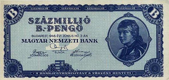 Uang Pecahan Terbesar dari Hungaria