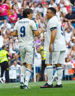 Real Madrid football legend Ronaldo De Lima