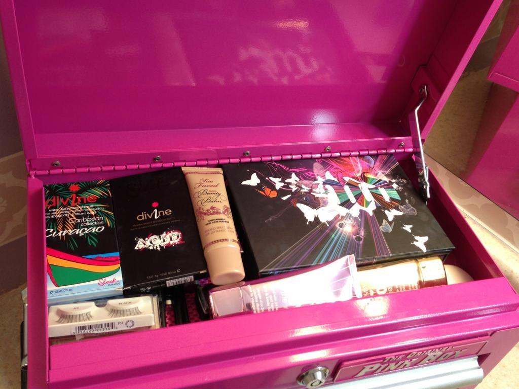 Beauty Storage Secret The Original Pink Box