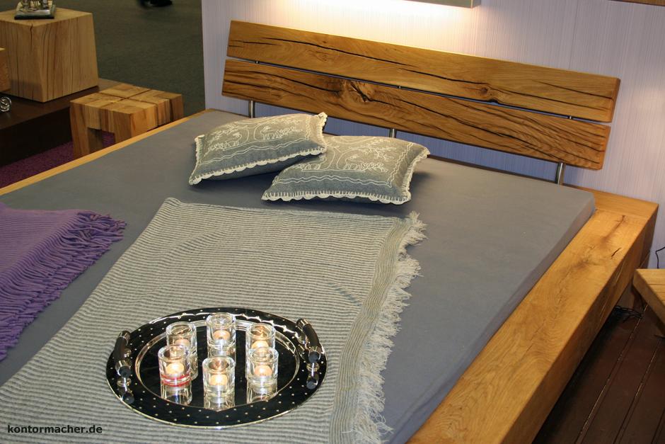 wohnkantine wohnideen vom holzm belkontor betten aus. Black Bedroom Furniture Sets. Home Design Ideas