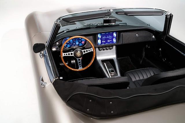 Jaguar E-Type Zero elétrico