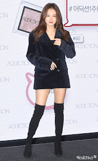 Jaekyung Showcases Her Beauty At Addiction Party