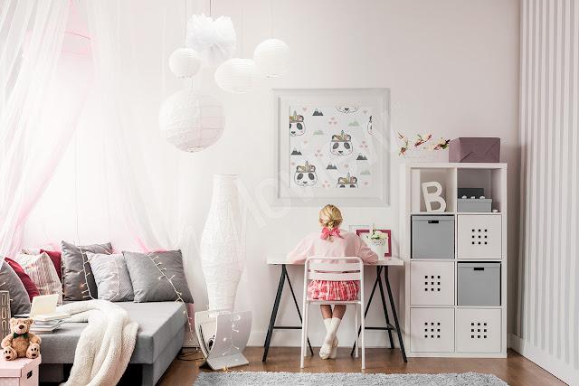 HOME: Plakaty i naklejki do pokoju dziecięcego, czyli jak stworzyć jeden, wspólny pokój dla chłopaka i dziewczynki.
