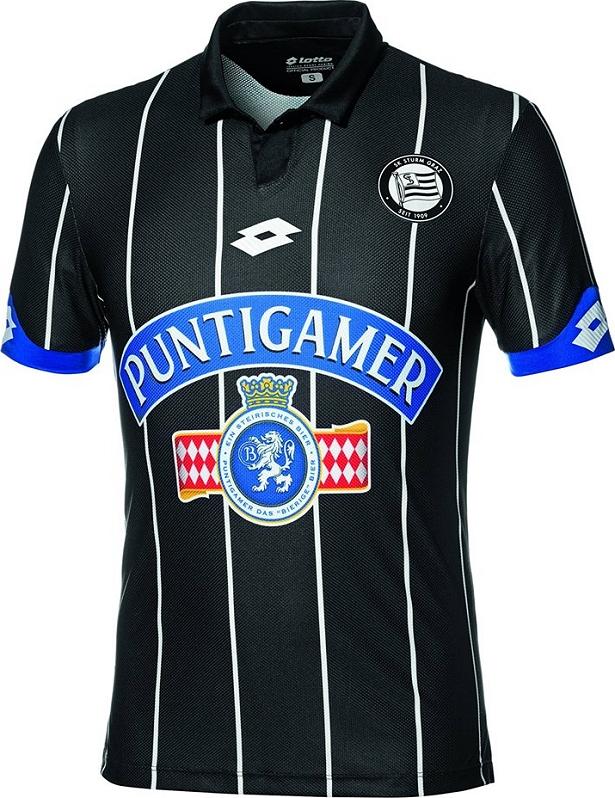 fa5c2edb4b Lotto divulga as novas camisas do Sturm Graz - Show de Camisas
