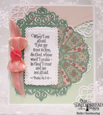 Our Daily Bread Designs, Grace's Strength, Doily, Filigree Layers, Dresden Quilt, Leafy Edged Border, Cozy Quilt Collection, By Robin Clendenning