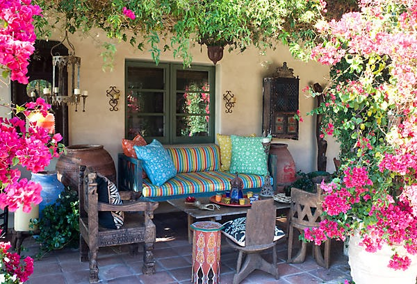 My 10 Favorite Bohemian Patio Ideas. | The House of Boho on Bohemian Patio Ideas id=46809
