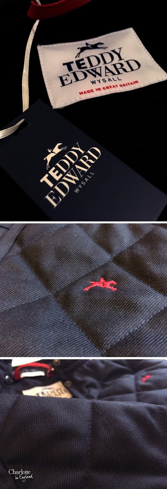 Teddy Edward: Blankney Rugby Shirt & Belvoir Coat