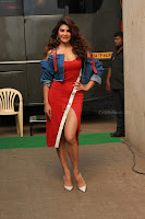 Jacqueline Fernandez Spicy Bollywood Actress in Red Dress Spicy  Exlcusive Gallery Pics (1).JPG