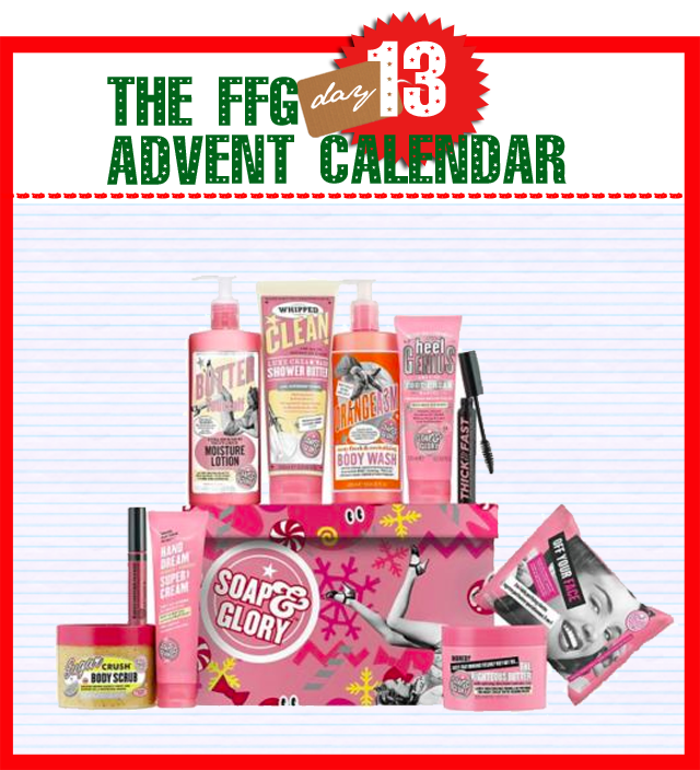 soap and glory giftbox for christmas