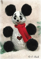 Nut critters panda ornament