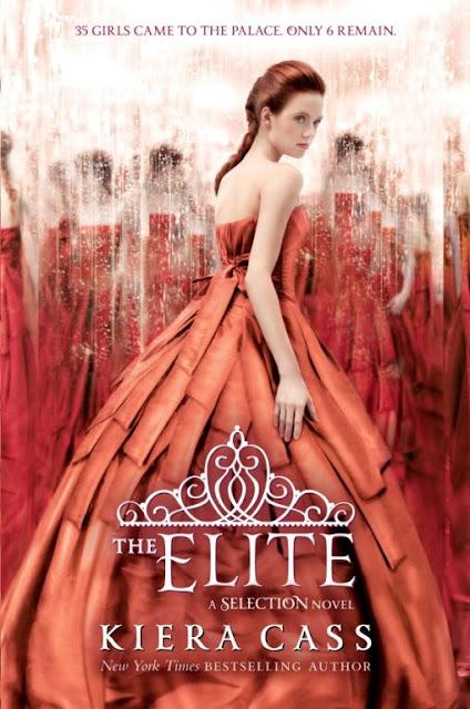 """News: Divulgada capa de """"The Elite"""", da autora Kiera Cass 17"""