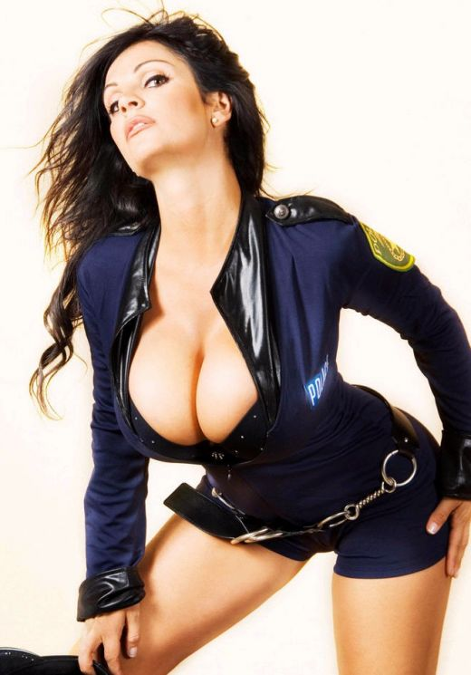 Policewoman and a dominatrix team up to interrogate a criminal6 - 3 2