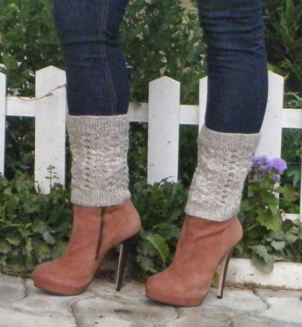 Leg warmers /Boot cuffs ~ Knitwear and Crafts