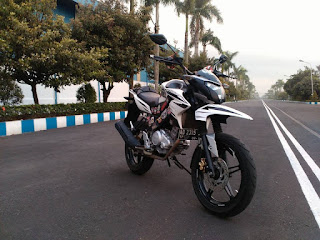 Modifikasi Motor Yamaha Vixion 20
