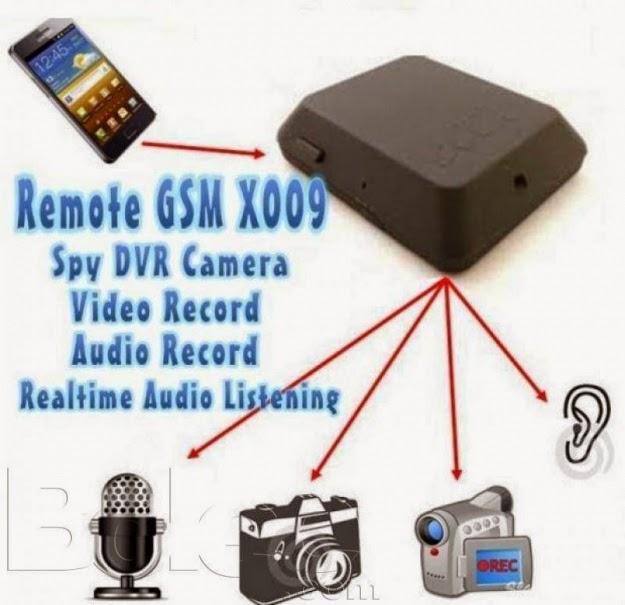 GSM Bug Dengan Kamera X009