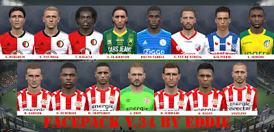 PES 2017 Facepack vol 34 by Eddie Facemaker