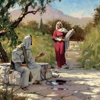 Jesus and women of samaria