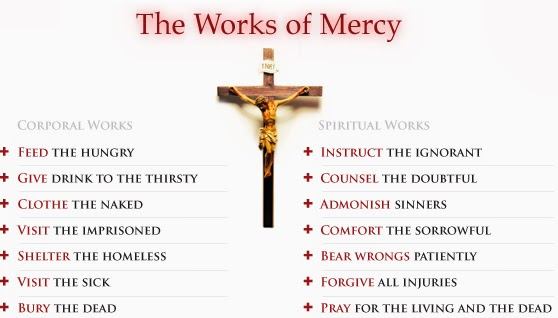 Spiritual Works of Mercy Clip Arts | Works of mercy ... |Spiritual Works Of Mercy Comfort The Sorrowful