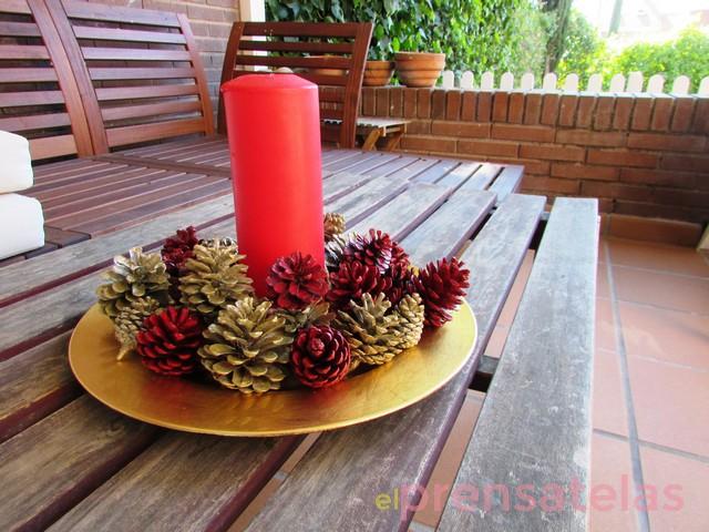 Tutorial Corona de Navidad