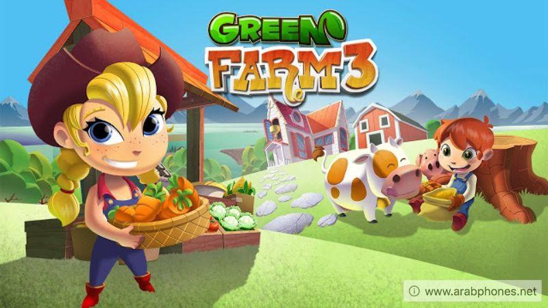تحميل لعبة Green Farm 3 مهكرة كاملة للاندرويد