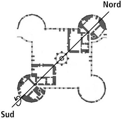 Spéculation sur le donjon du château de Chambord.