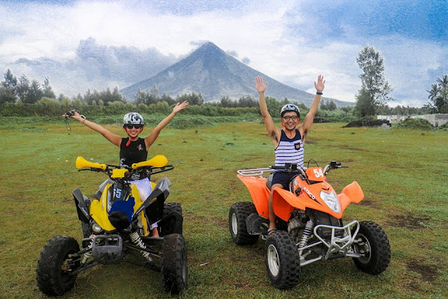 ATV RIDE IN MOUNT MAYON ALBAY