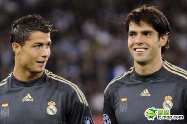 """Ricardo Kaka And Cristiano Ronaldo """"Real Madrid"""" 2012"""