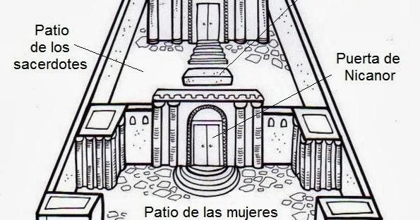 Templo De Salomon Para Colorear 15051