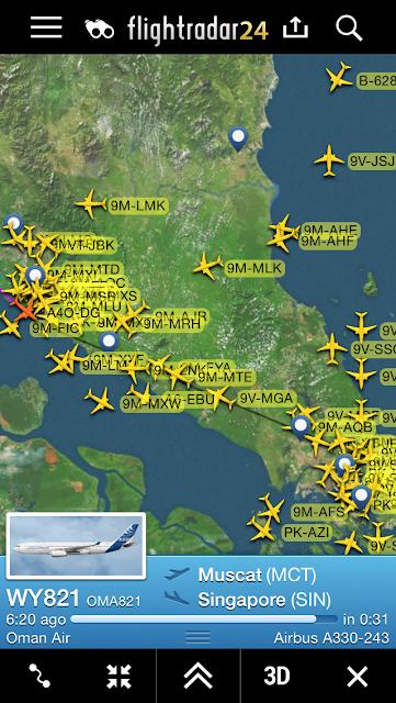 Charles Ryan\'s Flying Adventure: 5th Freedom Joyride With Oman Air ...