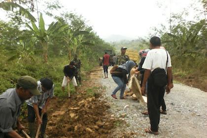 Pembangunan TMMD Ke-100 Tetap Menjaga Kelestarian Alam