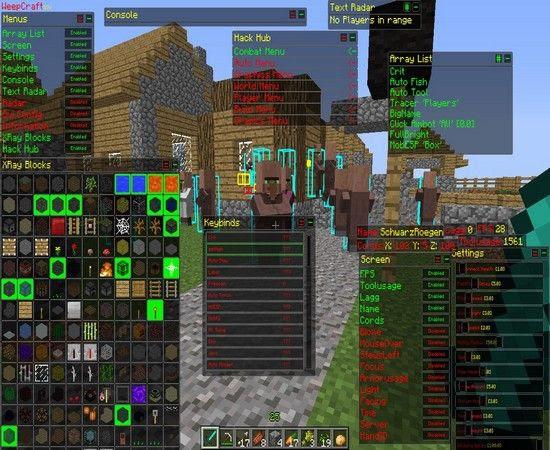 Minecraft Cheats Scripts