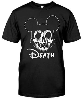 Metalhead Mickey Death T Shirts Hoodie Sweatshirt. GET IT HERE