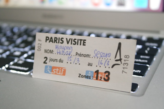 Transportation Card Paris