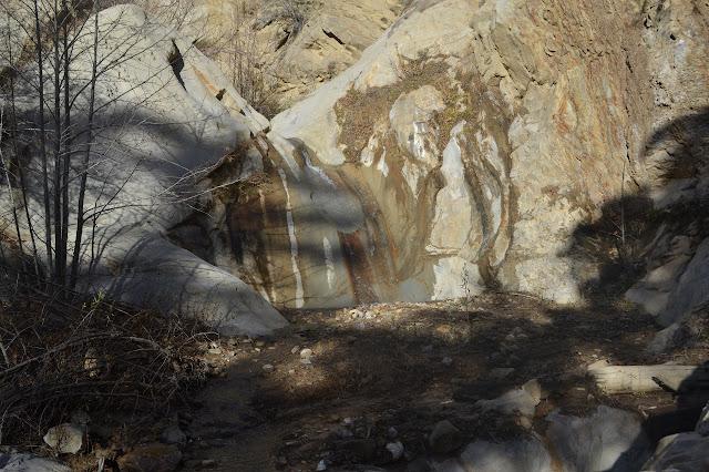 striped waterfall