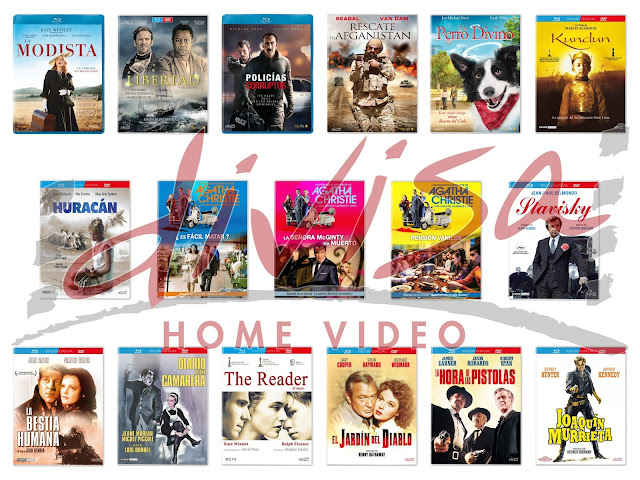 Lanzamientos de agosto en DVD y Blu-ray de Divisa Home Video