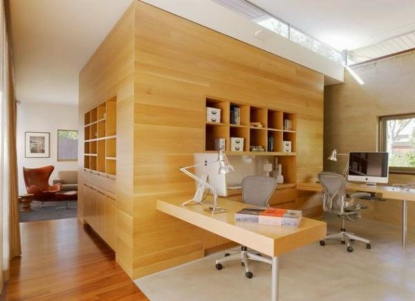 Diseño oficina para dos