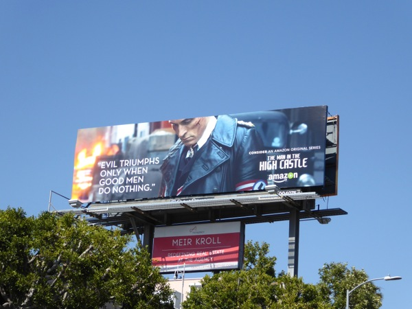 Man in High Castle 2016 Emmy billboard